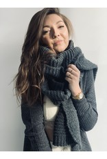 MW MEAVE KNITTED SCARF