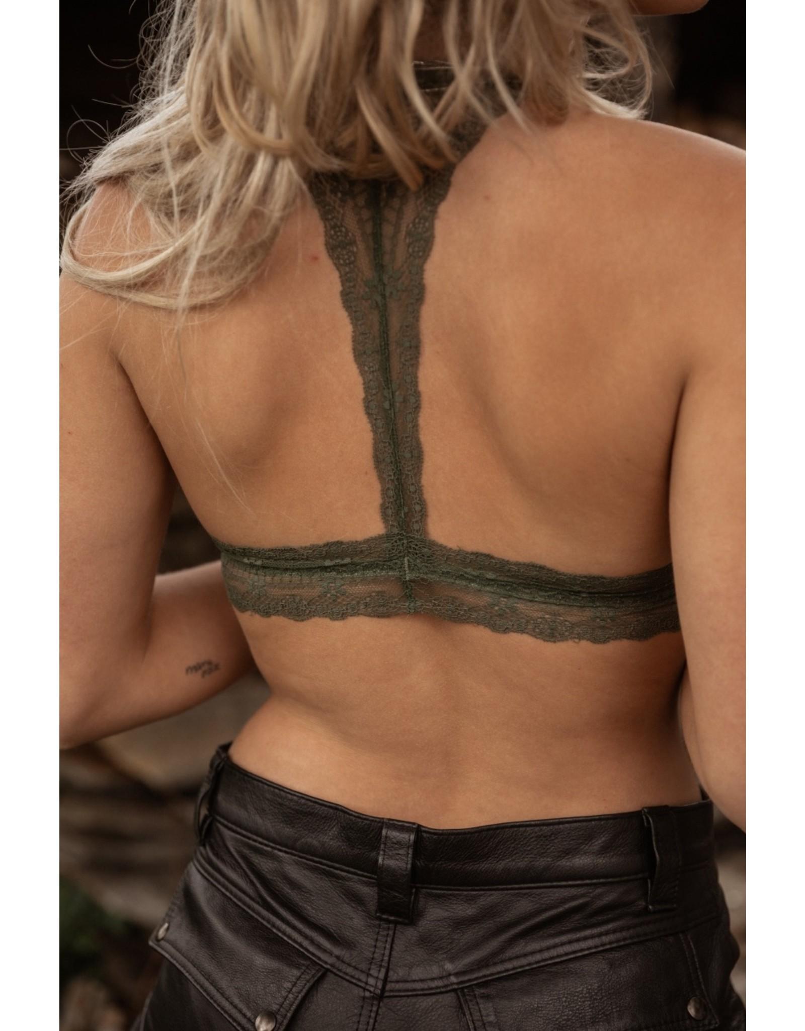 MW Lou Bralette Sensual Green