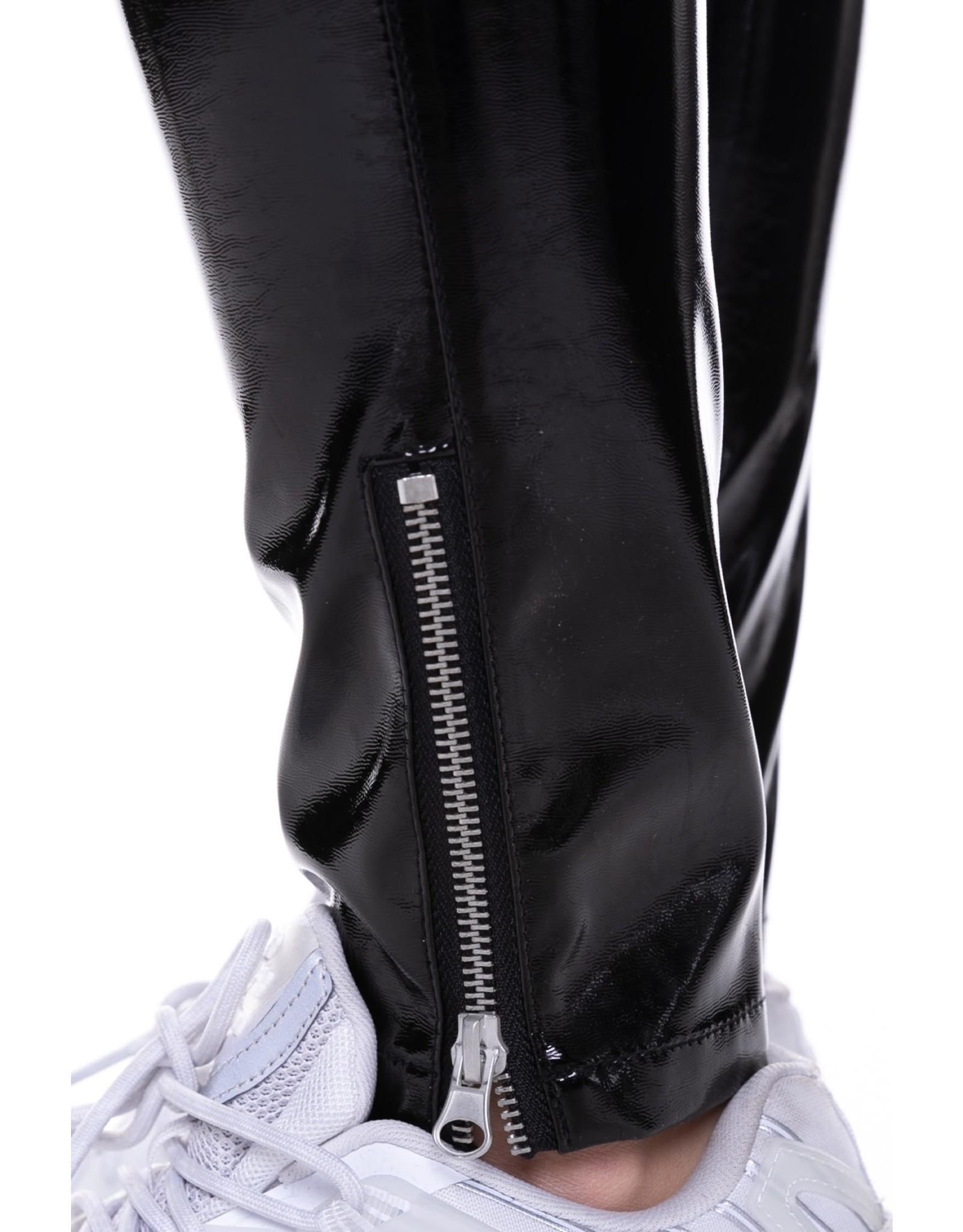 CR Rox PU Pants Black