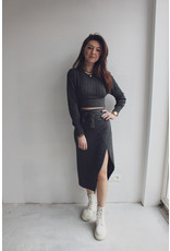 MW Loïs Knitted Top Stone Grey