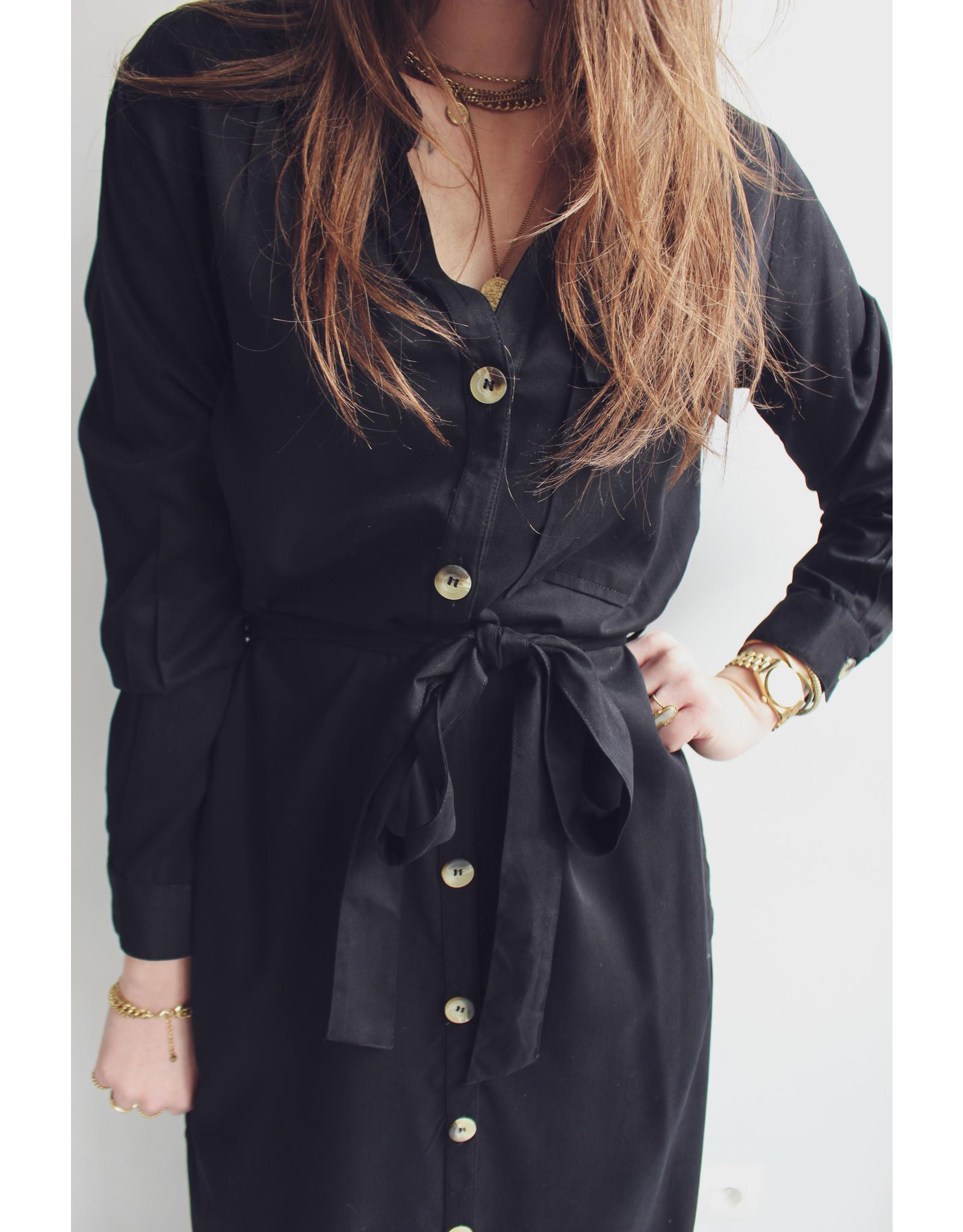 MW Evita Dress/ Cardigan Black