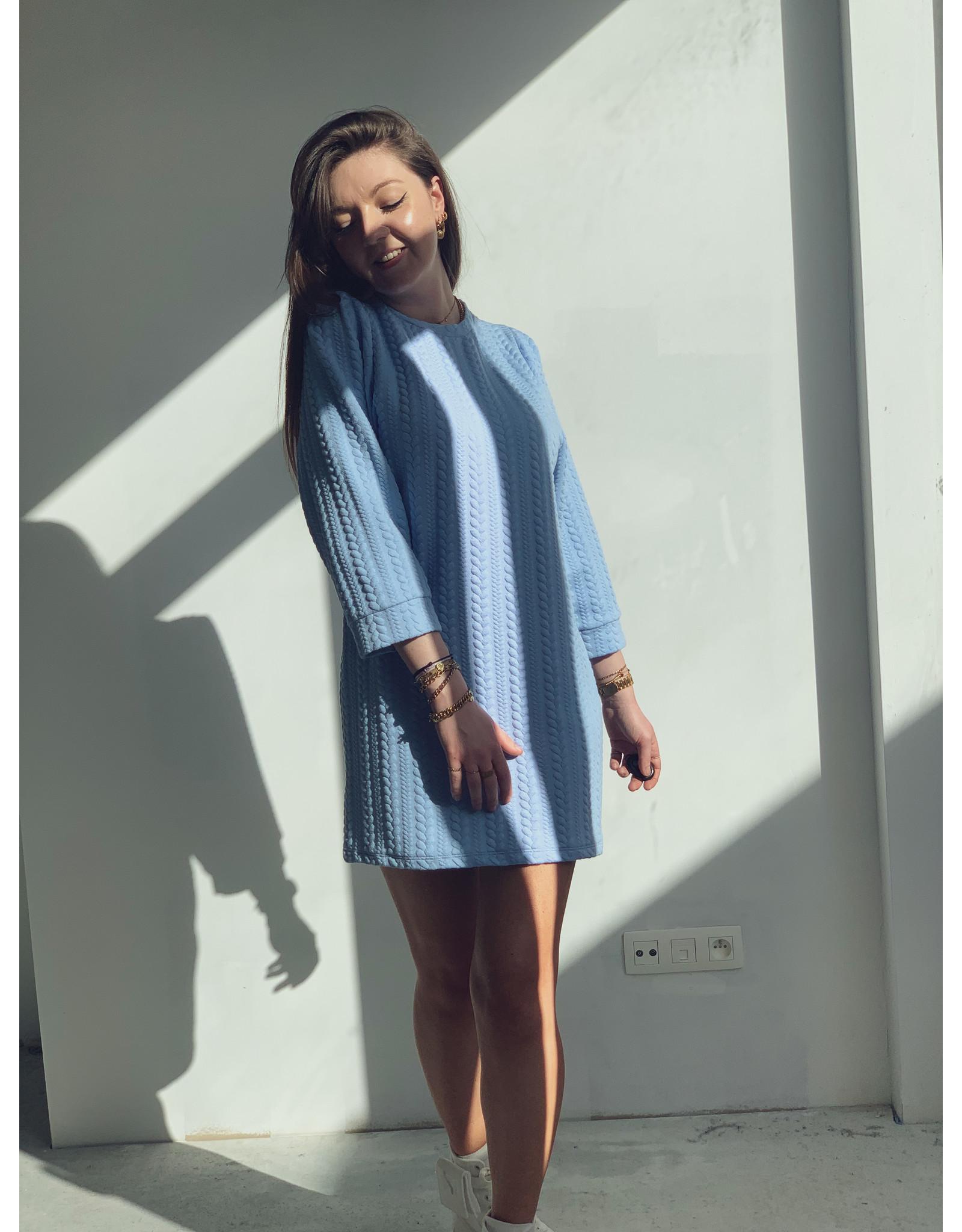 Sweater Dress Light Bleu
