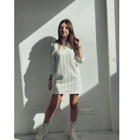 Sweater Dress Off White