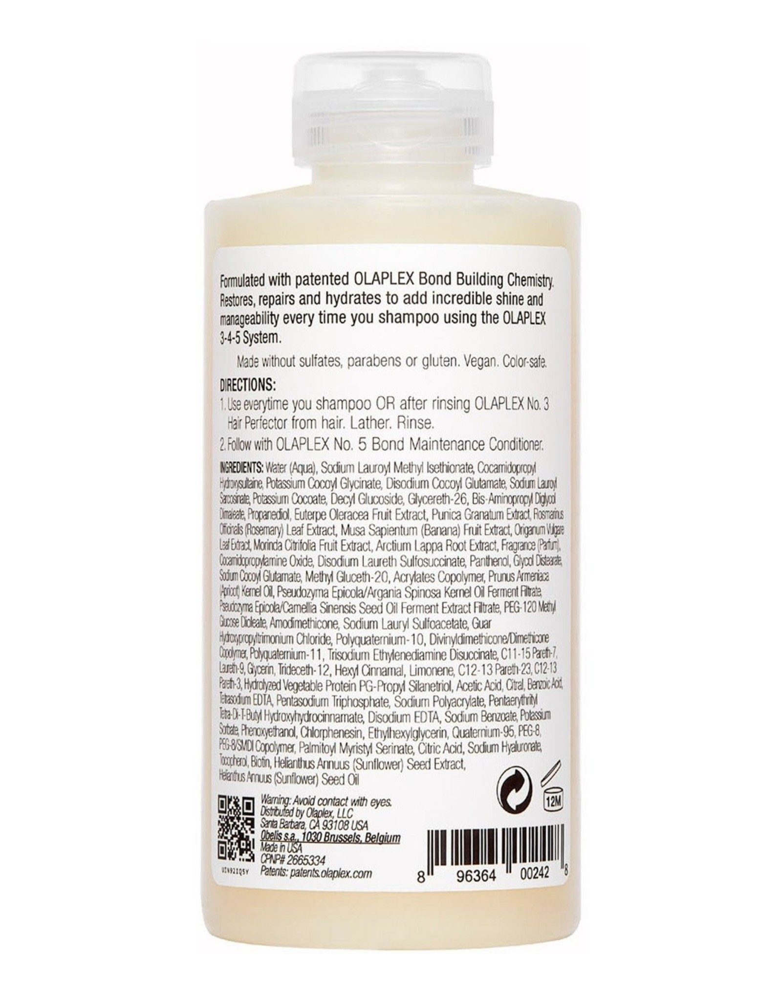 OLAPLEX OLAPLEX n°4 bond maintenance shampoo 250ml