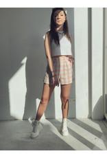 Turijn Short Pink White
