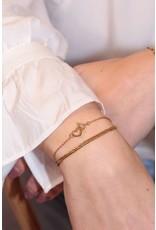 MJ Armbanden set hartje