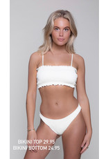 CR Lilly Uni Structure Bikini Bottom Sand