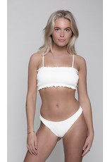CR Lilly Uni Structure Bikini Top Sand