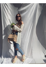 MW Vida Knitted Vest Off White