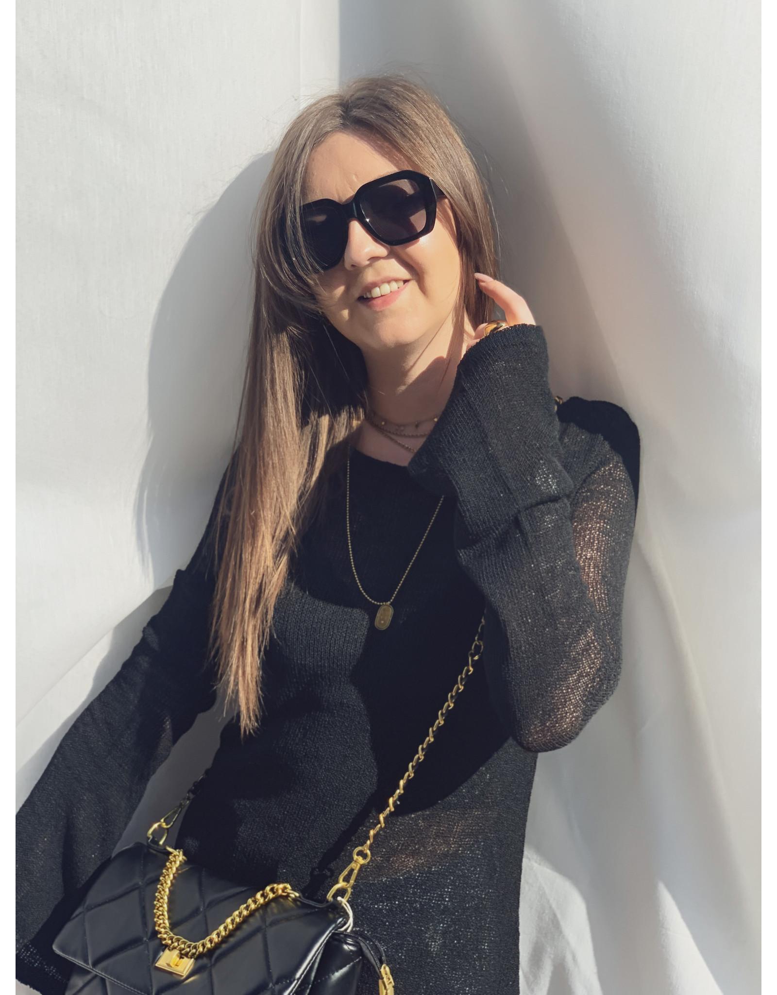MW Amina Knitted Dress Black