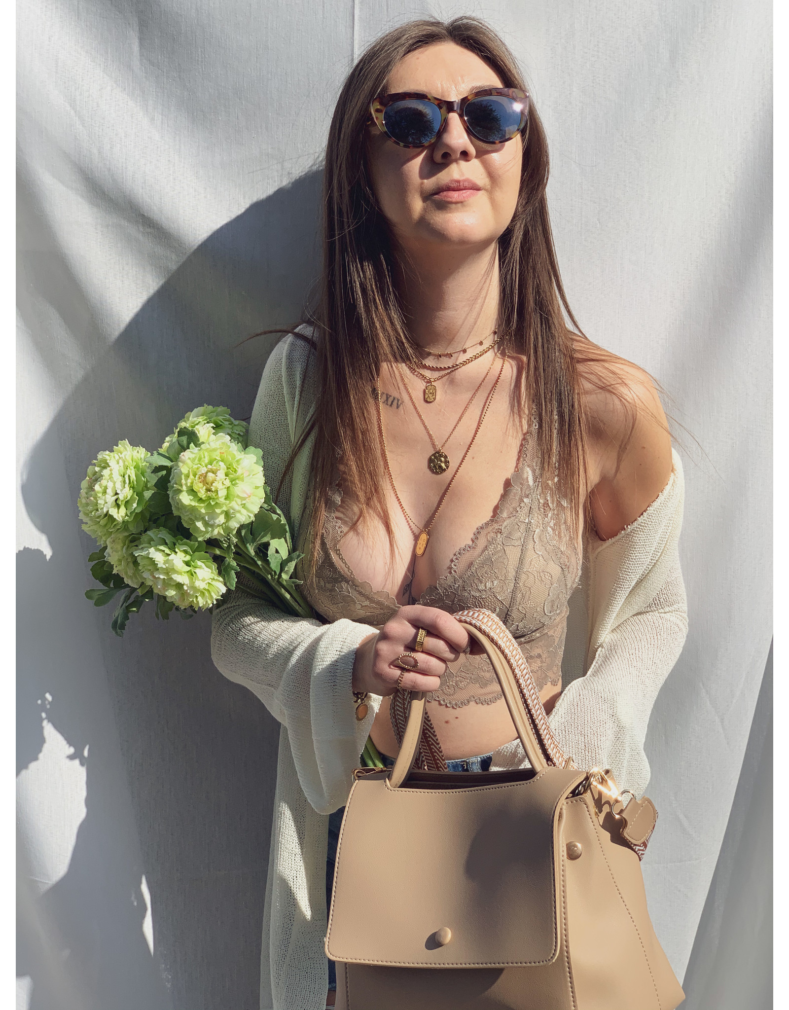 MW Lilly Bralette Tender Taupe