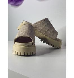 BRONX Camel Slipper