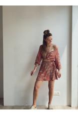 MW Anarosa Skirt Washed Red Flower