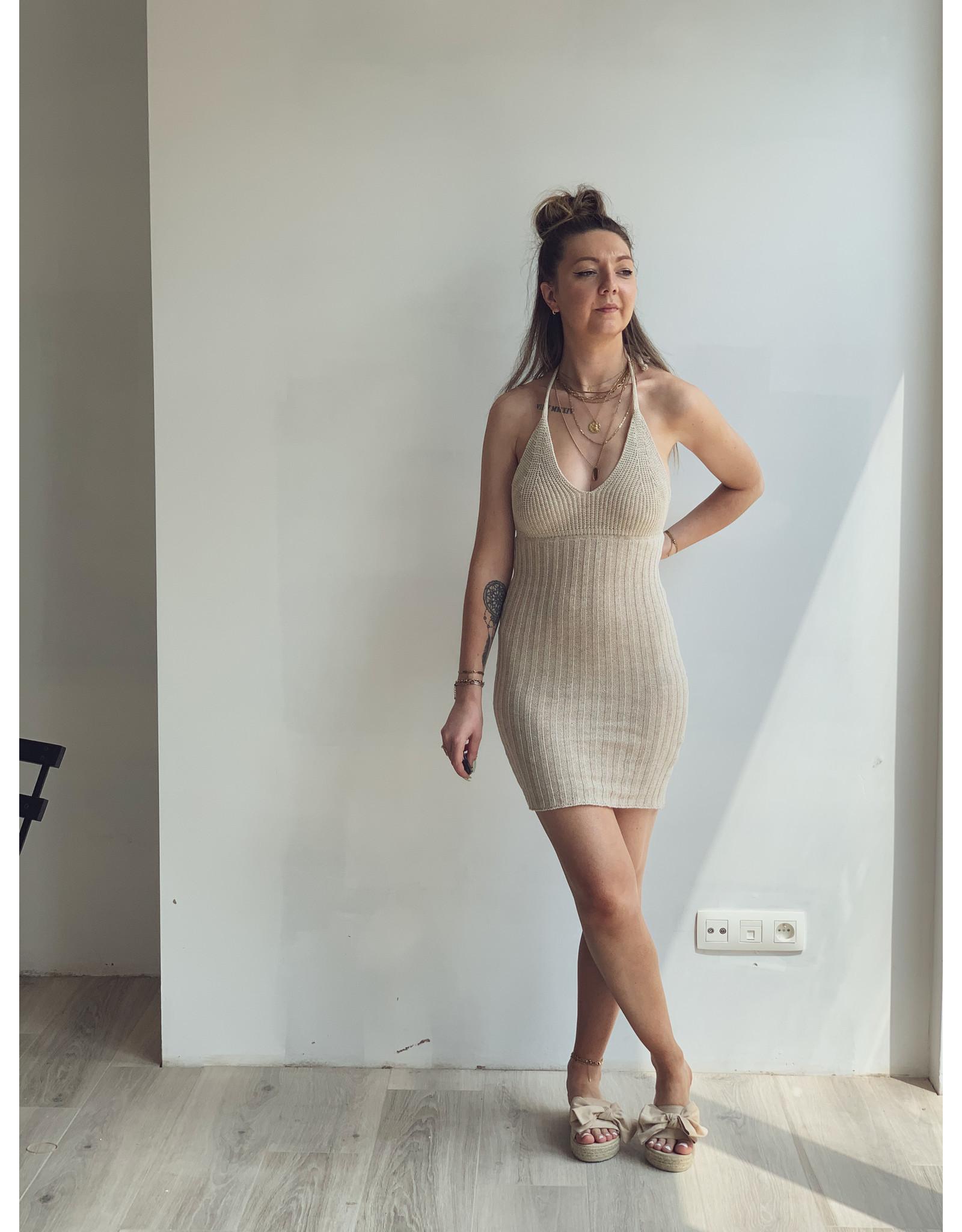 MW Valiente Knitted Dress Beige