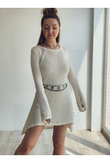 MW Amina Knitted Dress Off White