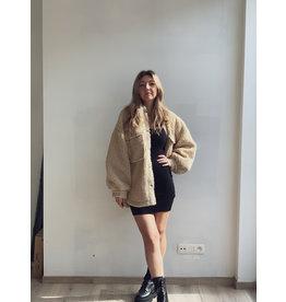 CR Suze Teddy Trucker Jacket