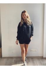 Hoodie Dress Black