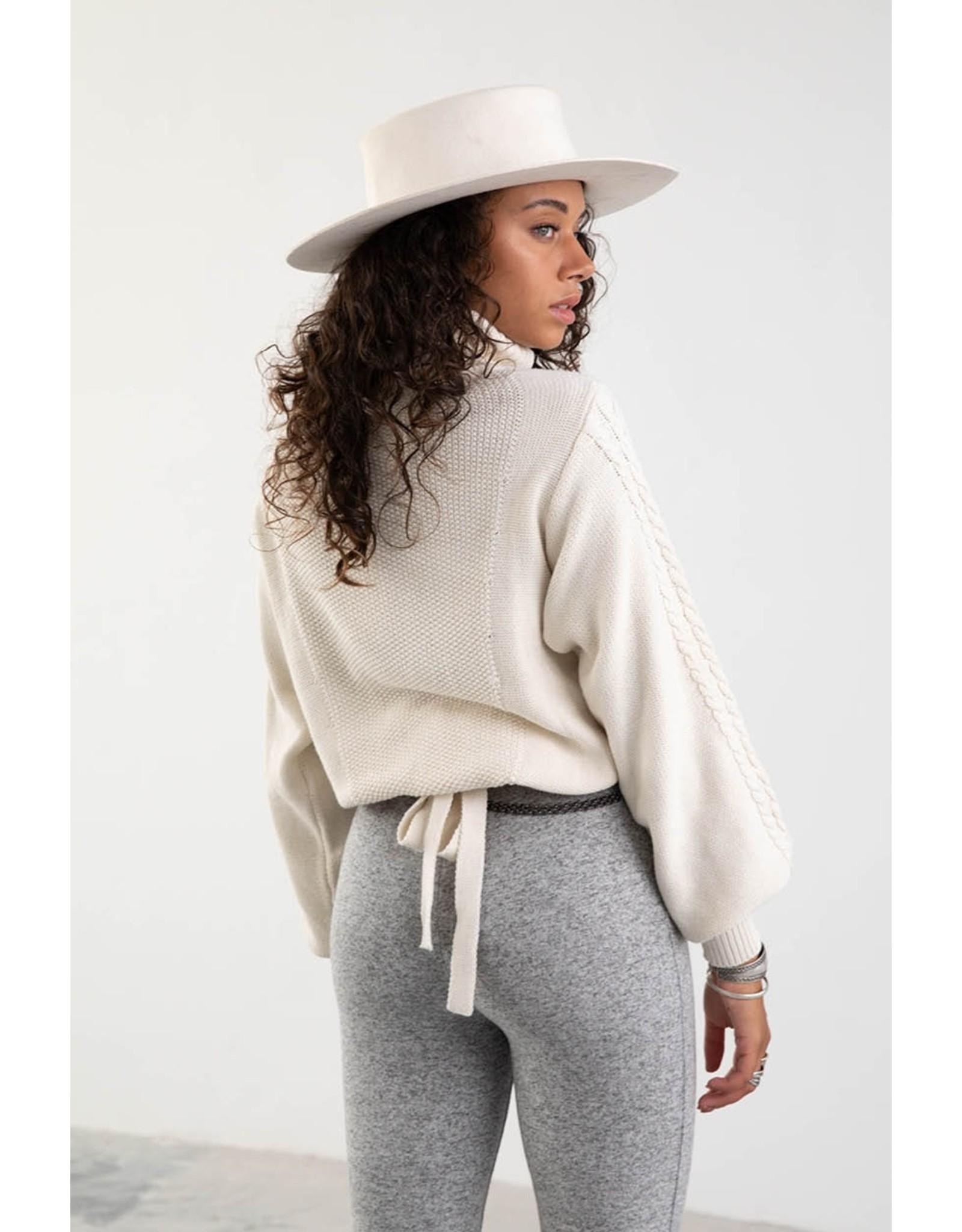 MW Ziva Knitted Sweater - Off White