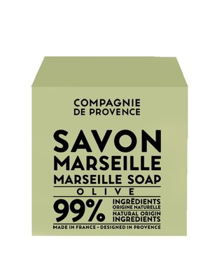 Compagnie de Provence Cube of Marseille Soap Olive