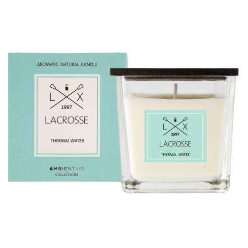 Lacrosse candle THERMAL WATER 8X8