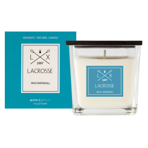 Lacrosse candle WILD WATERFALL 8X8
