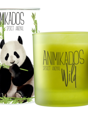 Lacrosse Vegetable Candle Panda-Bamboo