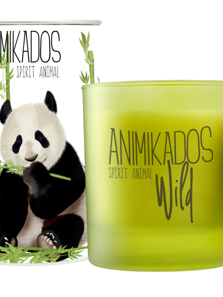 Lacrosse Vegetable Candle Panda-Bamboo