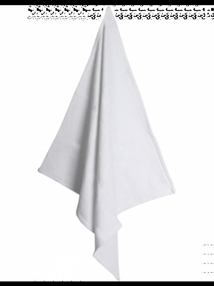 Koksdoek wit - grote ruit 70/70 cm
