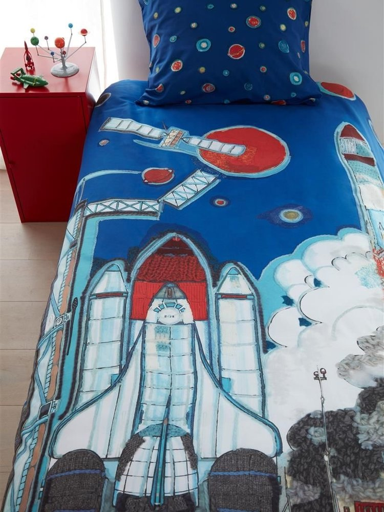 Beddinghouse KIDS BH Rocket ship Blue