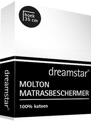 Dreamstar Dreamstar Hoeslaken Molton stretch hoek 30 cm