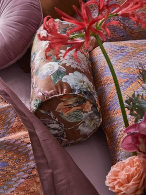Essenza Essenza Filou Shell brown Rolkussen 22 x 50 cm