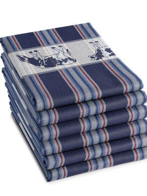 DDDDD DDDDD theedoek friesian 60x65 blue