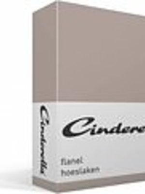 Cinderella Cinderella Flanel taupe 180x200/2210