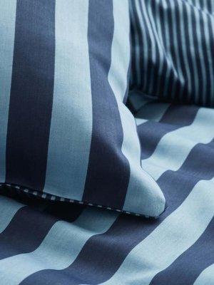 Marc O 'Polo Marc O'Polo  Classic Stripe Dekbedovertrek Deep blue
