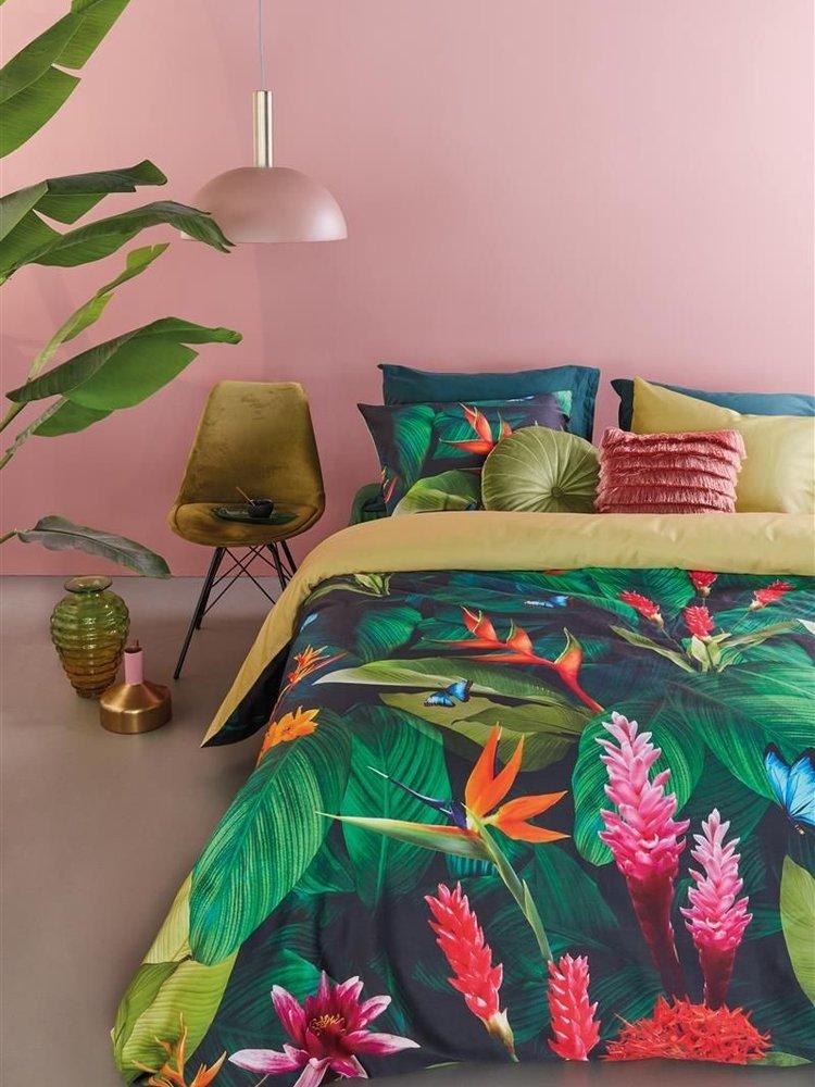 Beddinghouse Tropical Treasure green 240x220