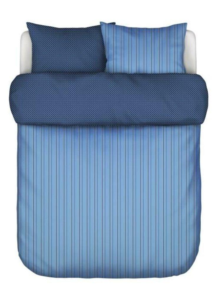 Marc O 'Polo Marc O'Polo dekbedovertrek Jarna Blue Lits-jumeaux