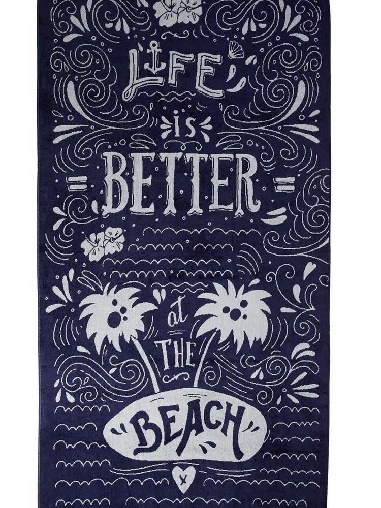 Kaat Amsterdam KA Beach Life Blue 100x180