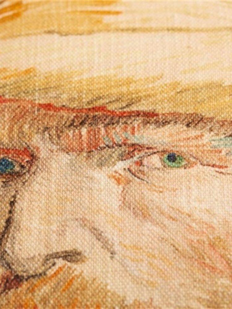 Beddinghouse x Van Gogh Museum BH GOGH Self Portrait Natural 40x40