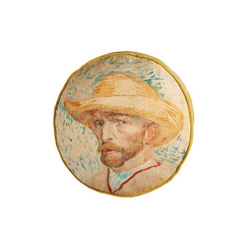 Beddinghouse x Van Gogh Museum Beddinghouse x Van Gogh Museum Self Portrait Cushion - 40x40 cm - Natural