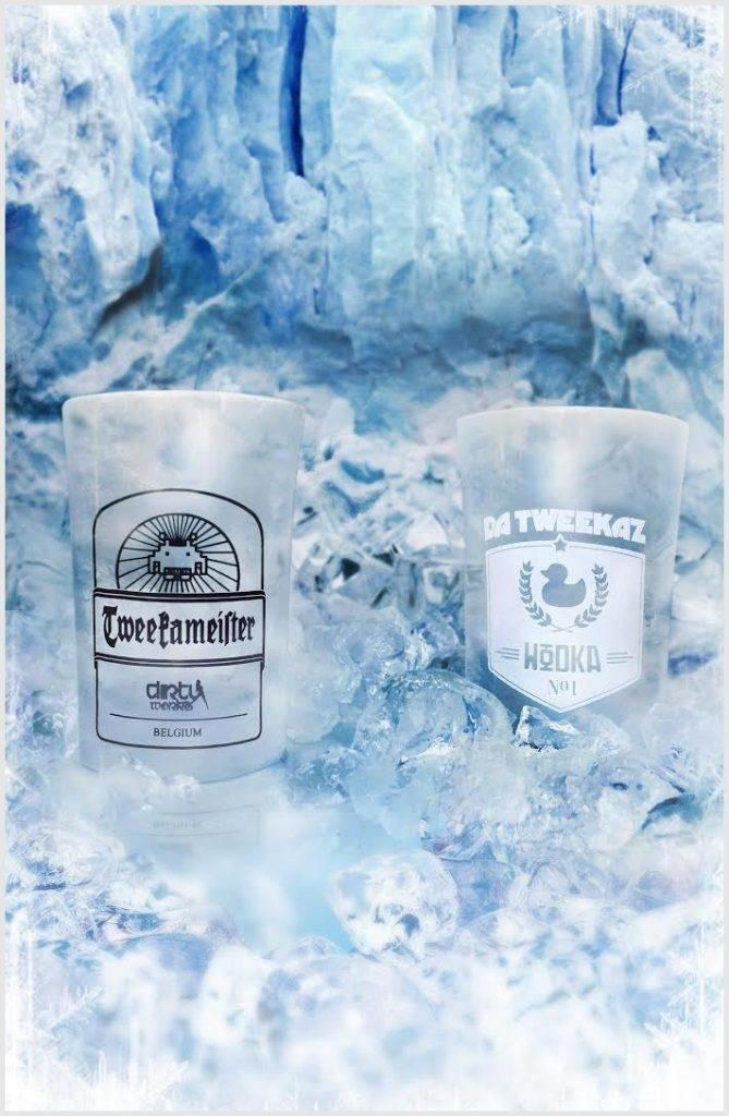 Wodka/Tweekameister Shotglasses