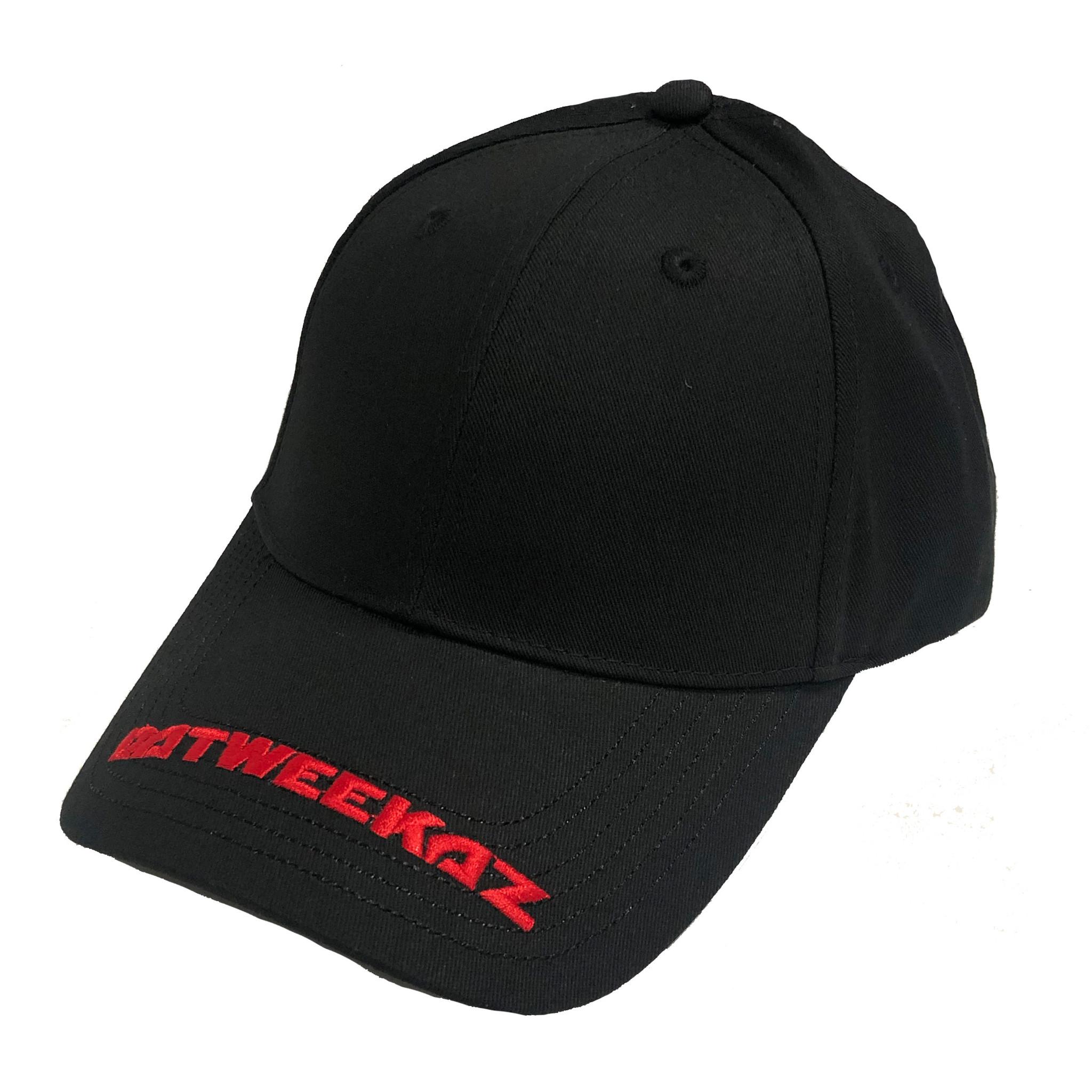 Red Visor Baseball Cap