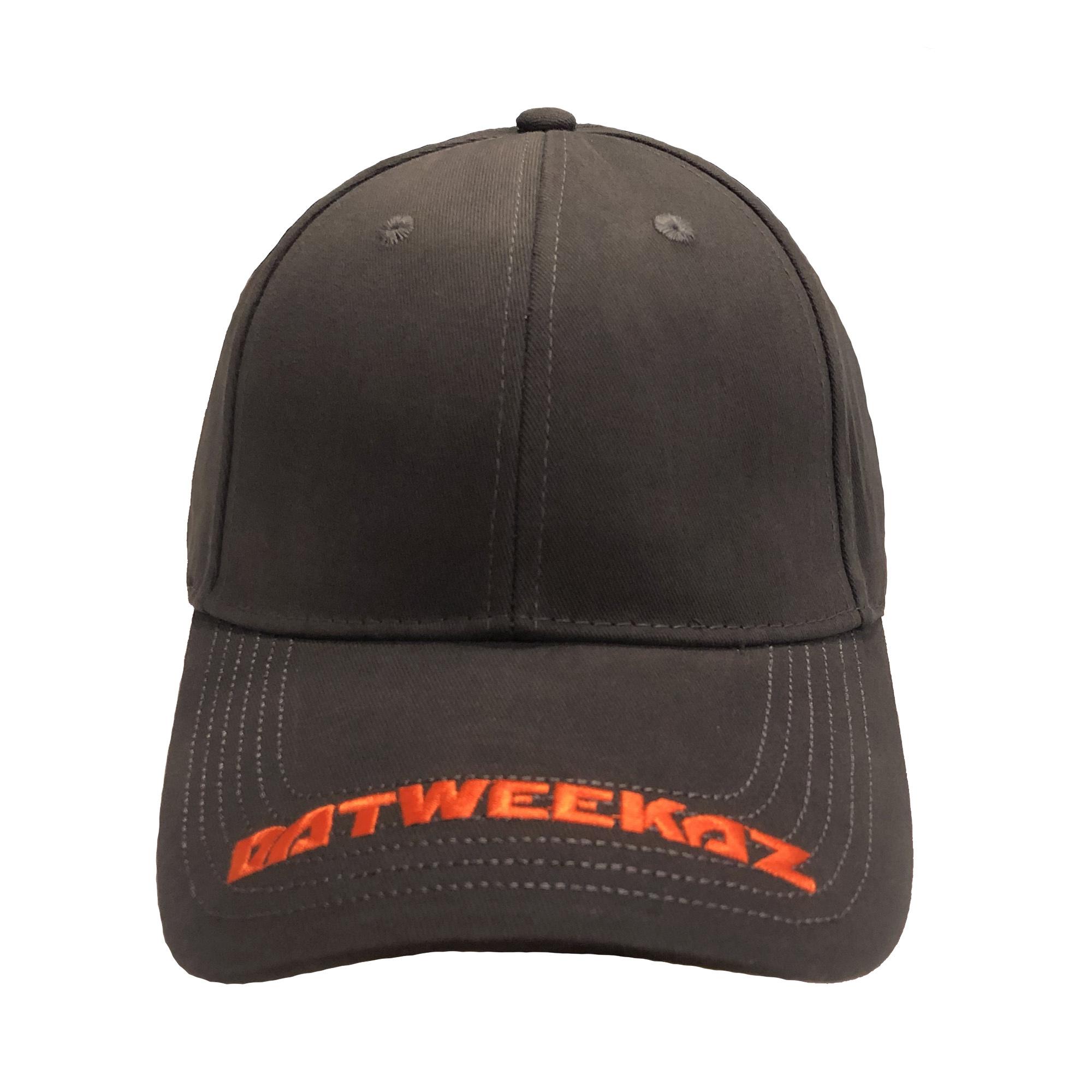 Orange Visor Baseball Cap