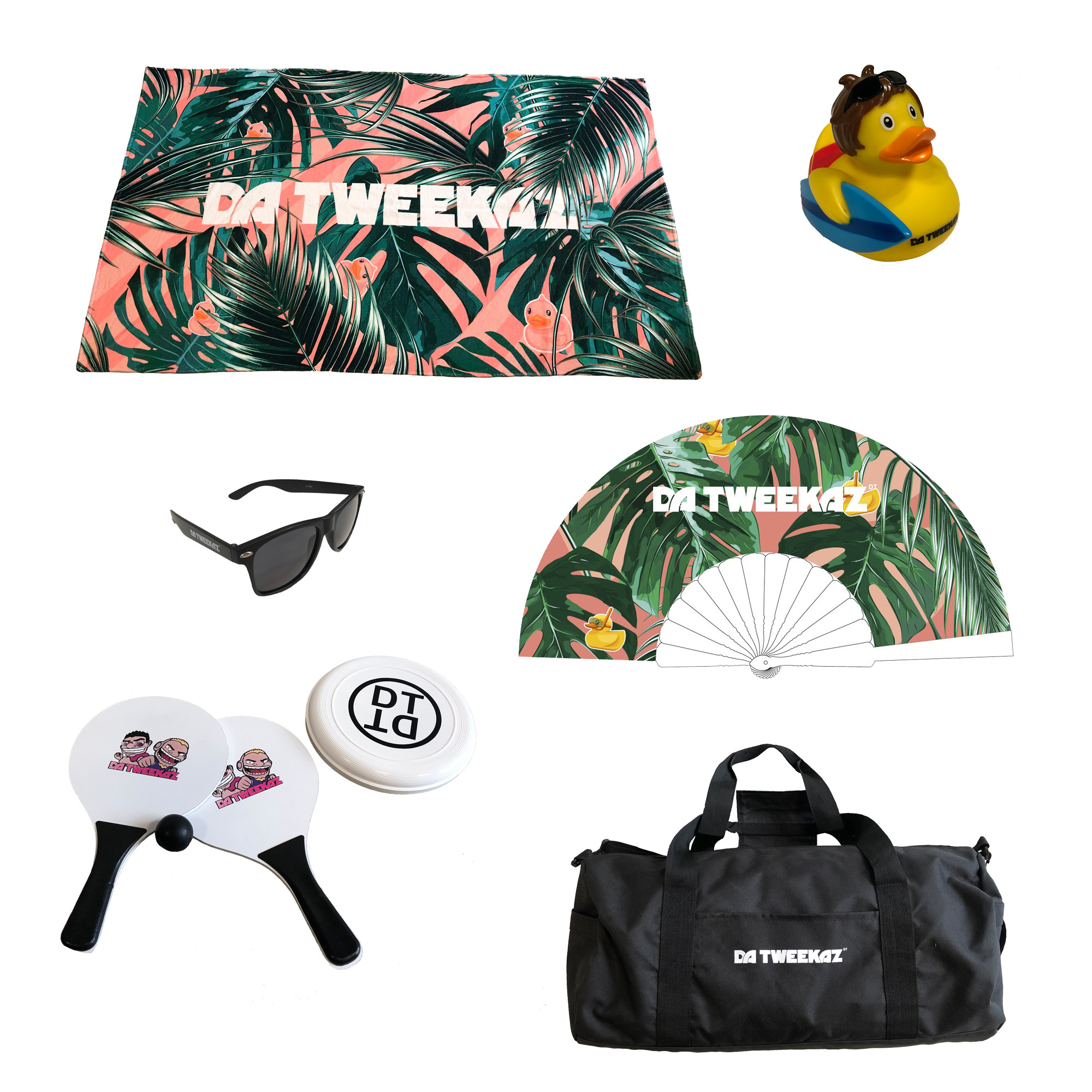 Summer Pack - Black Swim Shorts
