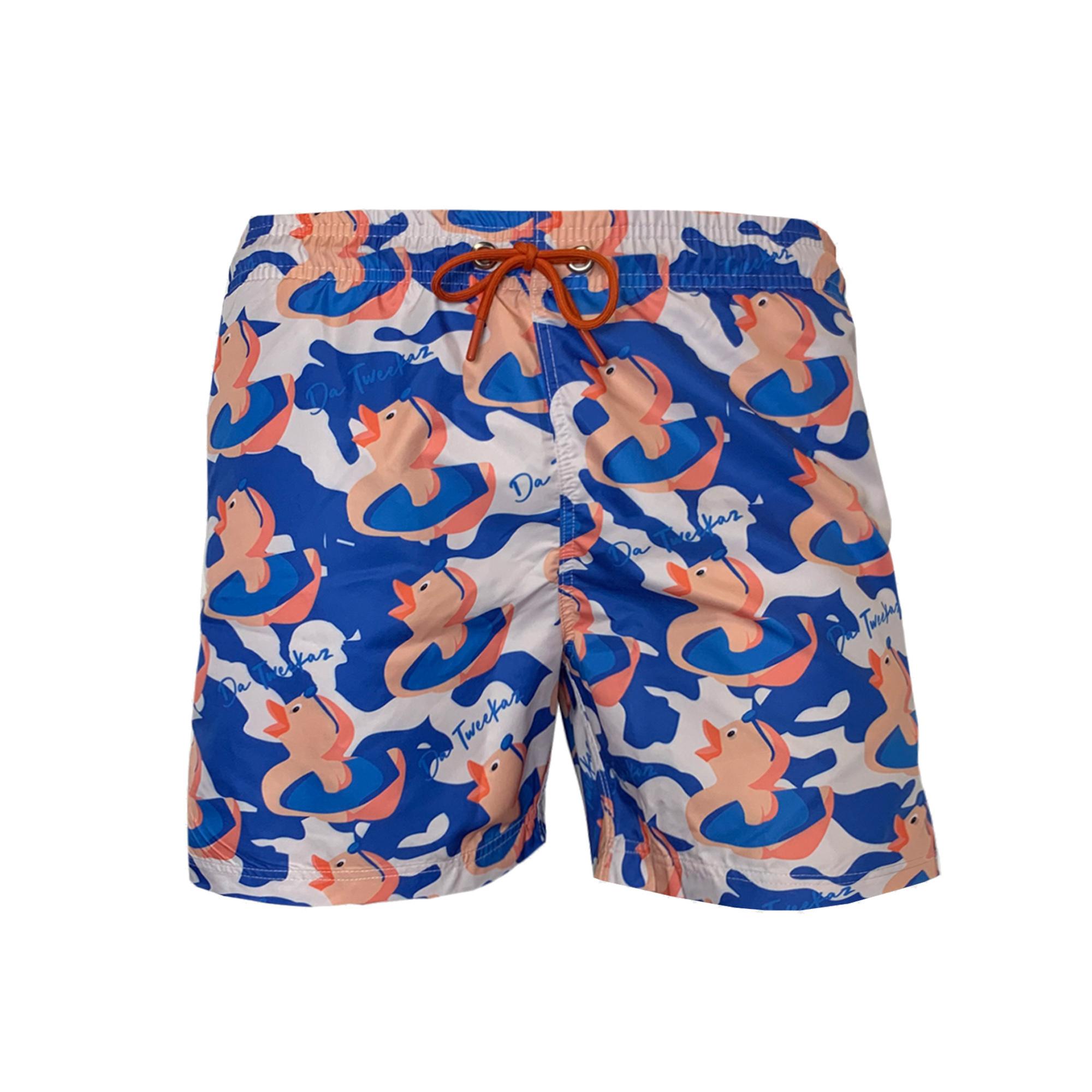 Surfer Duck Swim Shorts