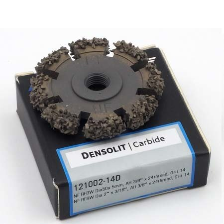 "NeroForce Densolit RFBW   Ø50x 5mm - AH 3/8"" x 24thread"