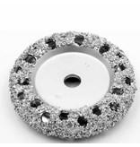 NeroForce Chrome Donut Wheel Ø105x13mm AH14mm