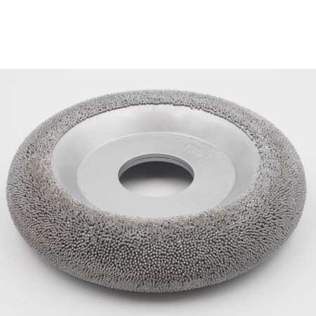 NeroForce Steel Shot Donut Wheel Ø152x25mm AH 38.1mm