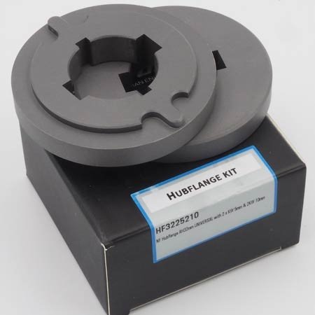NeroForce Hubflange AH 32mm UNIVERSAL with 2 x KW 5mm & 2KW 10mm
