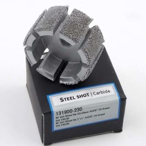 Steel Shot Grit Unit Wheel Ø 52x25mm