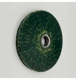 SIT Plastik gebundene Bürste, grün 70 x 8 mm, AH 10 mm (Std.0,50mm)